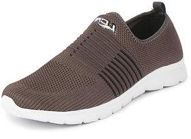 Lancer Men's Grey Black Sports Walking Shoes