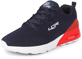 Lancer Men's Navy Red Sports Walking Shoes