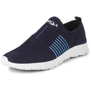 Lancer Men's Navy Sports Walking Shoes