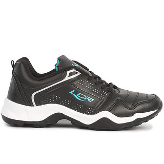Black Green Sports Running Shoes