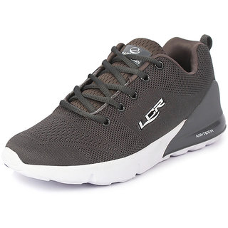 Lancer Men's Grey Sports Walking Shoes
