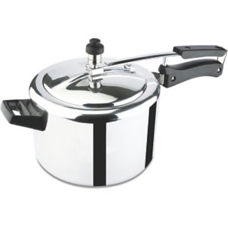 Sapphire Gold Pressure Cooker (5 Ltr) Induction Base