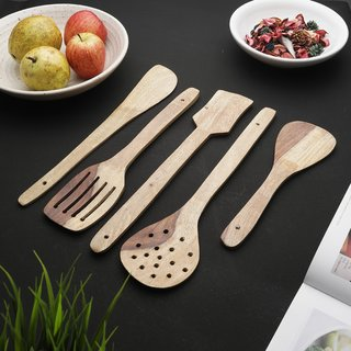 Styleco 5pcs wooden cooking Tools/kitchen utensils