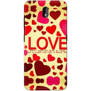 Print Ocean Hard Printed Back Cover For Nokia 3.2