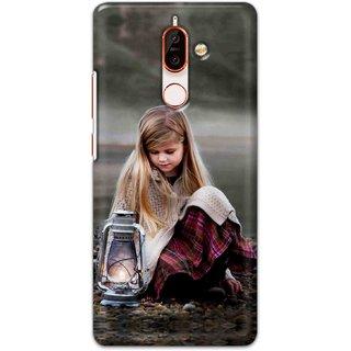 Print Ocean Hard Printed Back Cover For Nokia 7 plus