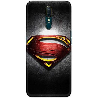 Print Ocean Hard Printed Back Cover For Oppo A9