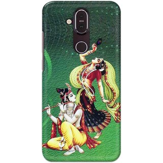 Print Ocean Hard Printed Back Cover For Nokia 8.1