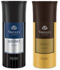Yardley Deodorant Body Spray (Set of 2)  (150 ml  2)