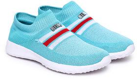 REFOAM Women Blue Mesh Casual shoes