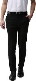 Haoser black formal pants for men | Slim fit Black formal Trouser for men Office Wear