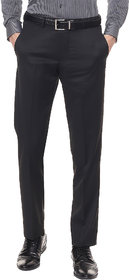Haoser black formal trousers for men Daily office wear formal pant for man