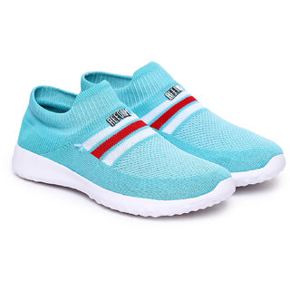 REFOAM Women Blue Mesh Casual shoes