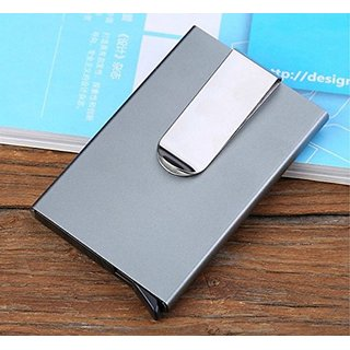 House of Quirk Men  card Holder Visiting Card Aluminium Card Holder