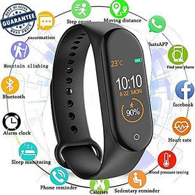 M 4 Plus WaterProof Smart Band Compatiable With All Android Phones