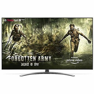 LG 139 cm (55 Inches) 4K Ultra HD Smart Nanocell TV 55Sm9000Pta (Black) (2019 Model)