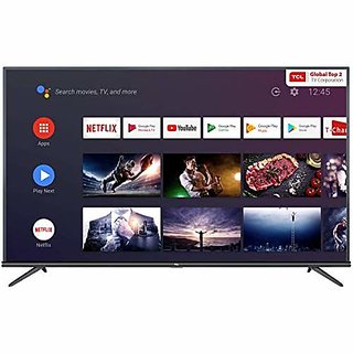 TCL 125.7 cm  50 Inches  4K Ultra HD Smart Certified Android Led TV 50P8E  Black   2019 Model  Television Bestsellers