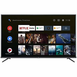 TCL 108 cm  43 Inches  4K Ultra HD Smart Certified Android Led TV 43P8E  Black   2019 Model  Television Bestsellers
