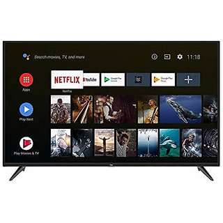 TCL 139 cm  55 Inches  Ai 4K UHD Certified Android Smart Led TV 55P8S  Black, 2019 Model  Television Bestsellers