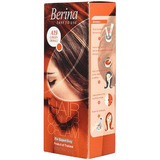 Berina A19 Golden Orange Hair Color Cream