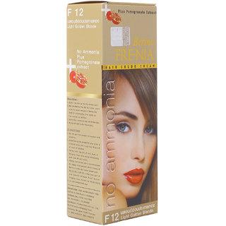 Berina F12 Light Golden Blonde FRE-NIA Hair Color Cream