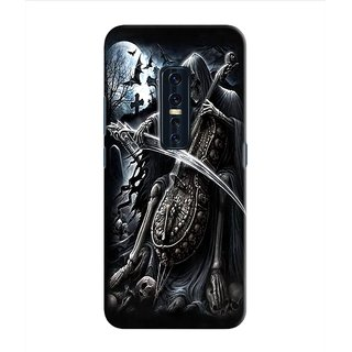 PREMIUM STUFF PRINTED BACK CASE COVER FOR VIVO V17 PRO DESIGN 13024
