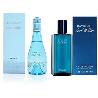Cole Water Combo (Set of 2 Perfumes) Men and Women
