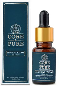 CORE AND PURE Magical Facial Oil Serum (Illuminating, Youthful And Healthy Face)