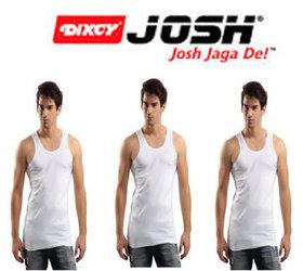 Dixcy josh Mens Vest (Set of 3 pc)