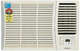 Voltas 1.5 Ton 5 Star Window AC  Copper185 DZA/185 DZA R32 White