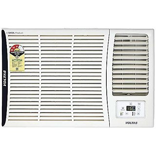 Voltas 1.5 Ton 3 Star Window AC  Copper 183 DZA/ 183 DZA R32 White