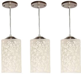 VAGalleryKing With Bulb Three Decorative Hanging Light Pendant Ceiling Lamp