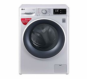 LG 6.5 kg Inverter Fully Automatic Front Loading Washing Machine  FHT1065SNL Luxury Silver Inbuilt Heater