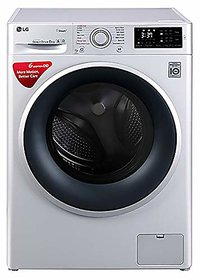 LG 8.0 Kg Inverter Fully-Automatic Front Loading Washing Machine (FHT1208SNL Luxury Silver)