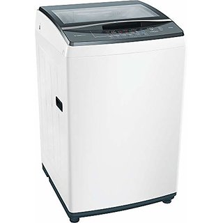 Bosch 7kg Fully Automatic Top Loading Washing Machine WOE702W0IN White