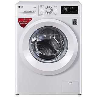 LG 6 kg Inverter Fully Automatic Front Loading Washing Machine  FHT1006HNW White  Washing Machines
