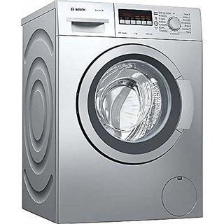 Bosch 7 kg Fully Automatic Front Loading Washing Machine  WAK2426SIN Silver Inbuilt Heater