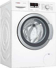 Bosch 7 kg Fully Automatic Front Load with In-built Heater White (WAK2016WIN)