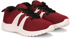 NAMCHEE Kid's Boys  Girls Soft Fashion Comfort Cherry Fabric Laced Up Outdoor Running,Walking, Sports Shoes