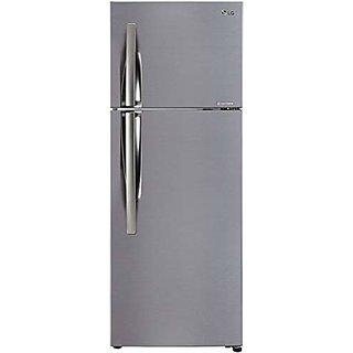 LG 308 L 2 Star Inverter Wi Fi Frost Free Double Door Refrigerator  GL C322KPZY Shiny Steel  Refrigerators