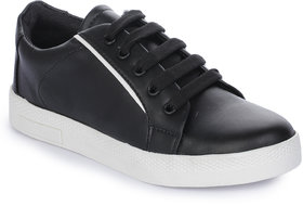 Walkfree Women Black Casual Sneakers