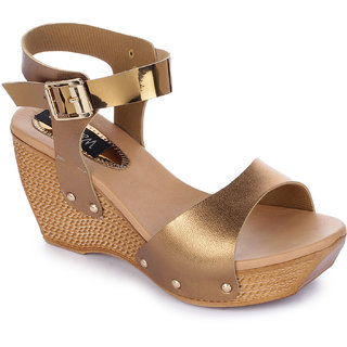 Walkfree Women Casual Copper Wedges