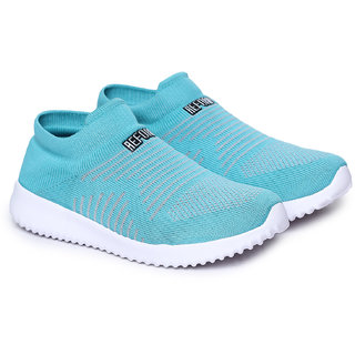 REFOAM Women Blue Mesh Running Sports Shoes