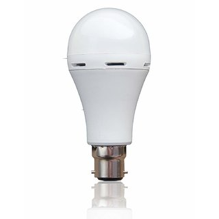 Emergency B22 9 Watt Cool Daylight LED Bulb (Power Backup Upto 4 Hours)