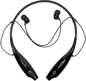AVMART HBS730 Bluetooth Stereo Headset Wireless Bluetooth Mobile Phone Headphone Sport Earphone with Call Function-Black