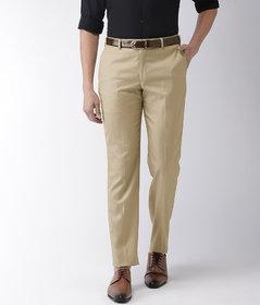 Haoser formal pants for men office wear, beige formal Office Trouser for men