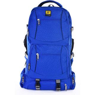 Sanghavi Bag Travel Hiking Backpack For Outdoor Sport Camping Hiking Trekking Bag Rucksack  Bags For Your Trip  -Blue