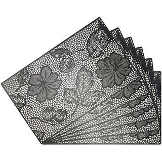 Placemats (Revexo ) for Dining Table With Coasters Set of 6