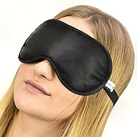 G-TRADE Sleeping Travelling Eye Mask 100 Cotton Silk Super Smooth Relax Eye Mask PROTECTION FOR EYES