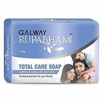 Galway Total Care Soap, ( pack of 4) Each produts 100 g