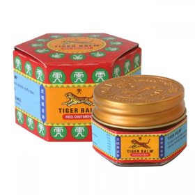 Tiger balm red ointment for pains 10g